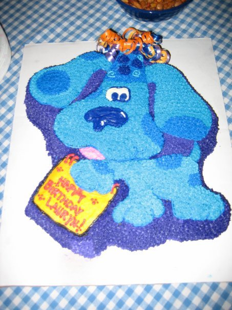 Blue's clues birthday cake