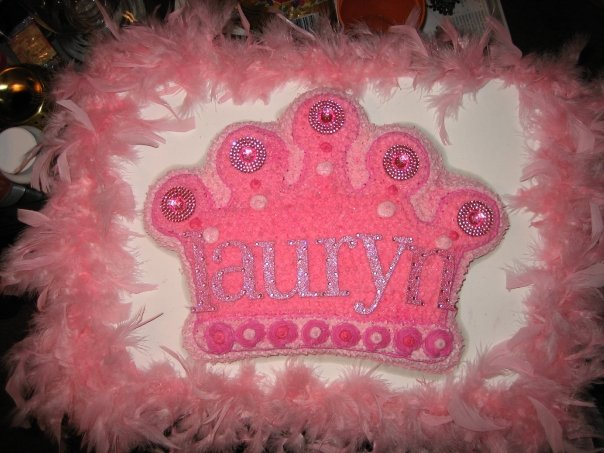 Easy DIY Princess cake