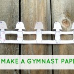 Kid c.r.a.f.t. #14: Paper Chain Gymnasts