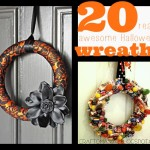 Handmade Halloween wreaths