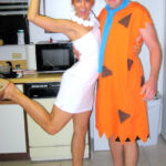 Flintstones couple costume