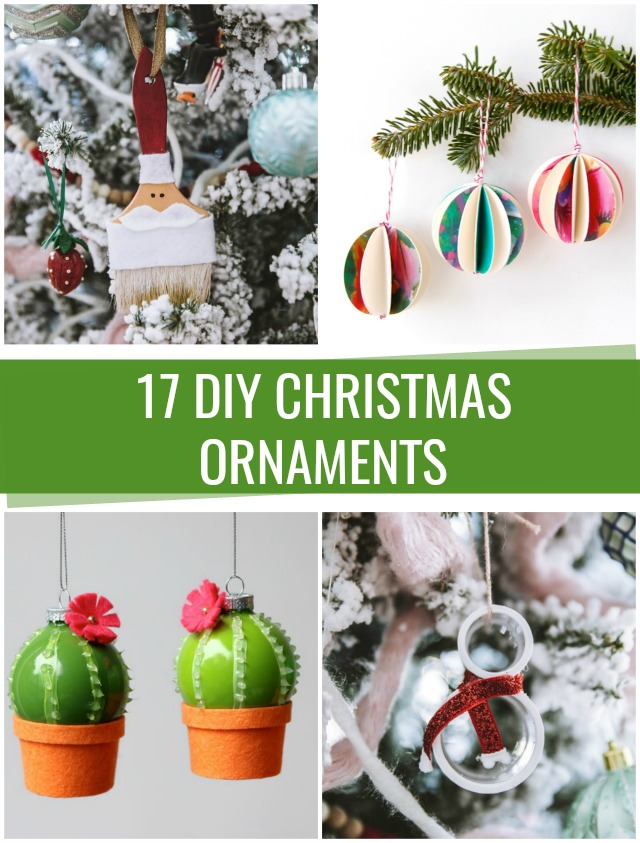 17 DIY Christmas Ornaments