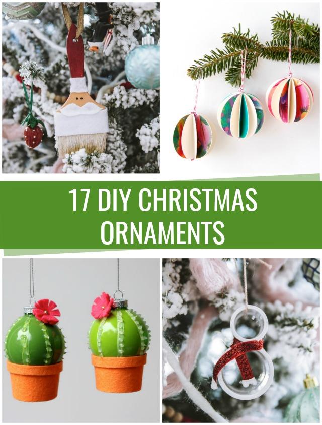 DIY Christmas Ornaments - C R A F T