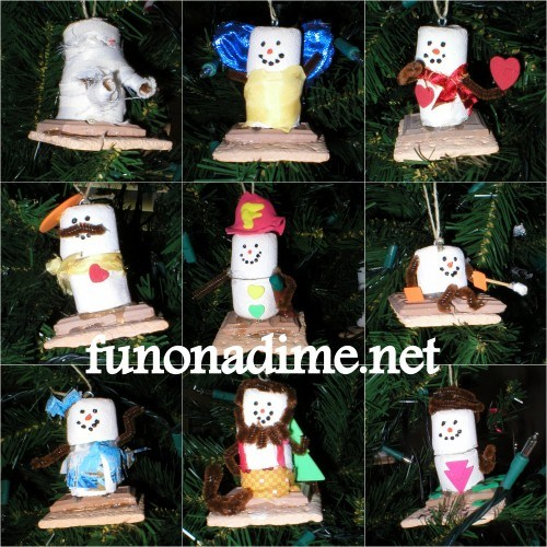 DIY Smore ornaments