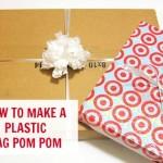 How to make a plastic bag pom pom