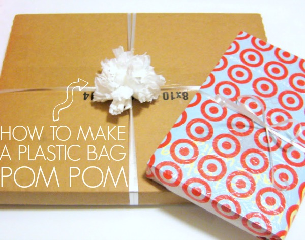 How To Make A Plastic Bag Pom Pom