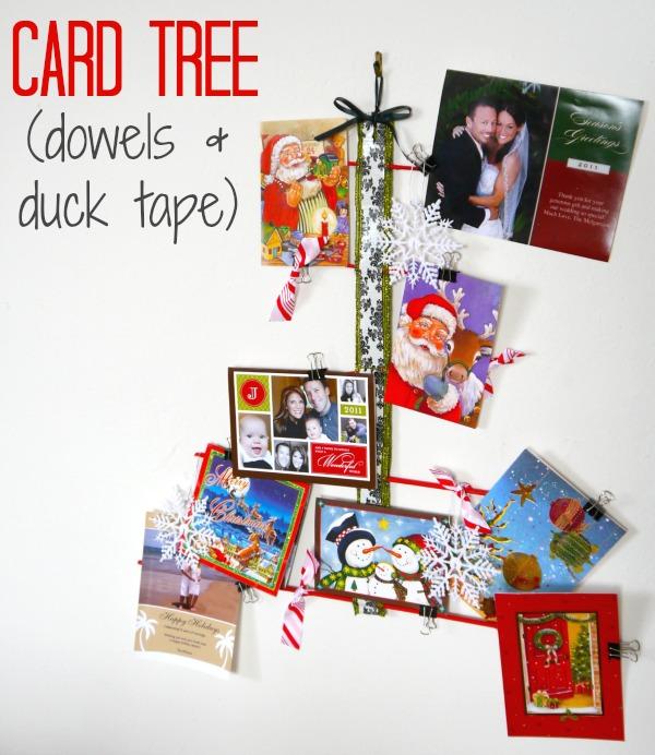 Organize Christmas Cards