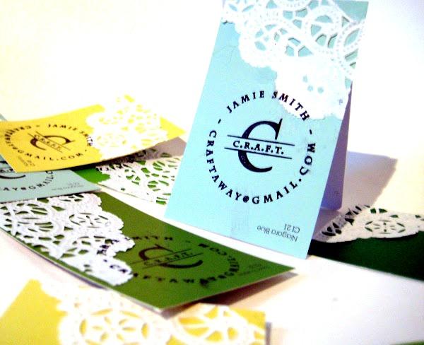 DIY Business cards