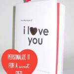 Valentine Book #1