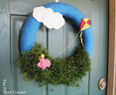 DIY Spring wreath ideas