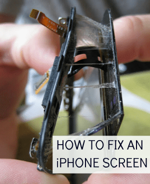 fix cracked iphone screen c r a f t 76 how to replace a broken iphone 2375