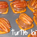 Easy Christmas cookies {Turtle Bites}