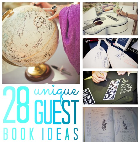 28 unique guest book ideas for any party!