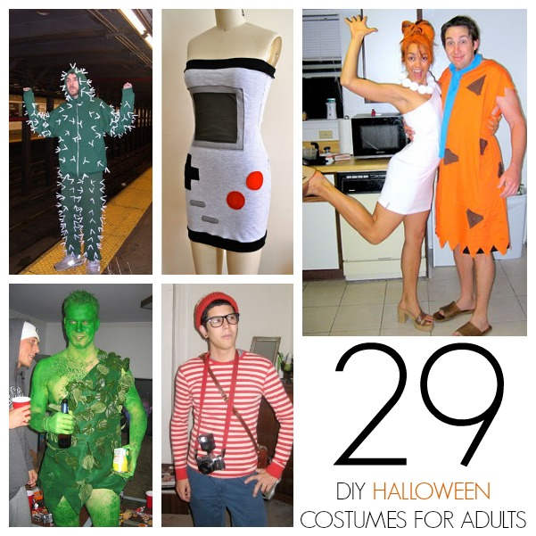 easy halloween costumes with things around the house