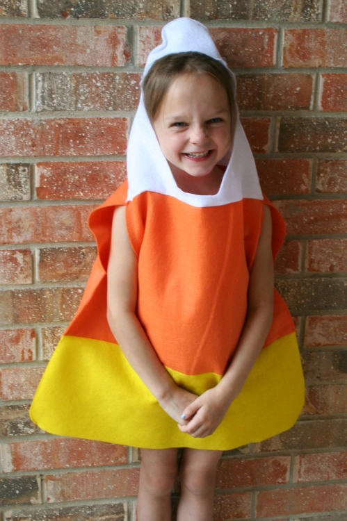 DIY Candy Corn Costume