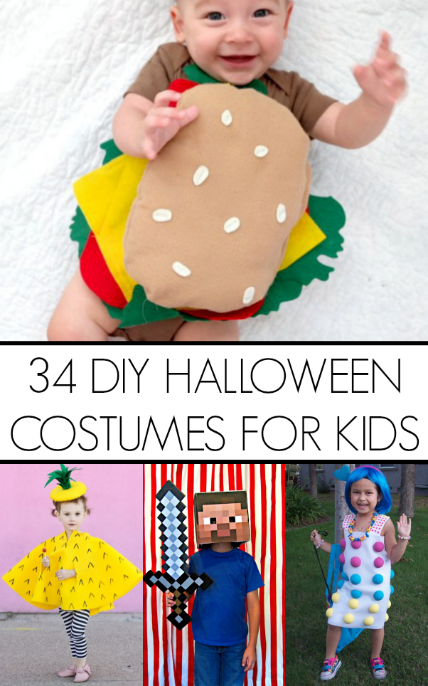 crafty cute diy kid halloween costume ideas to make this halloween