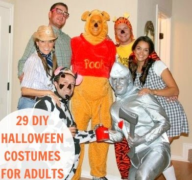 HOMEMADE HALLOWEEN COSTUMES FOR ADULTS