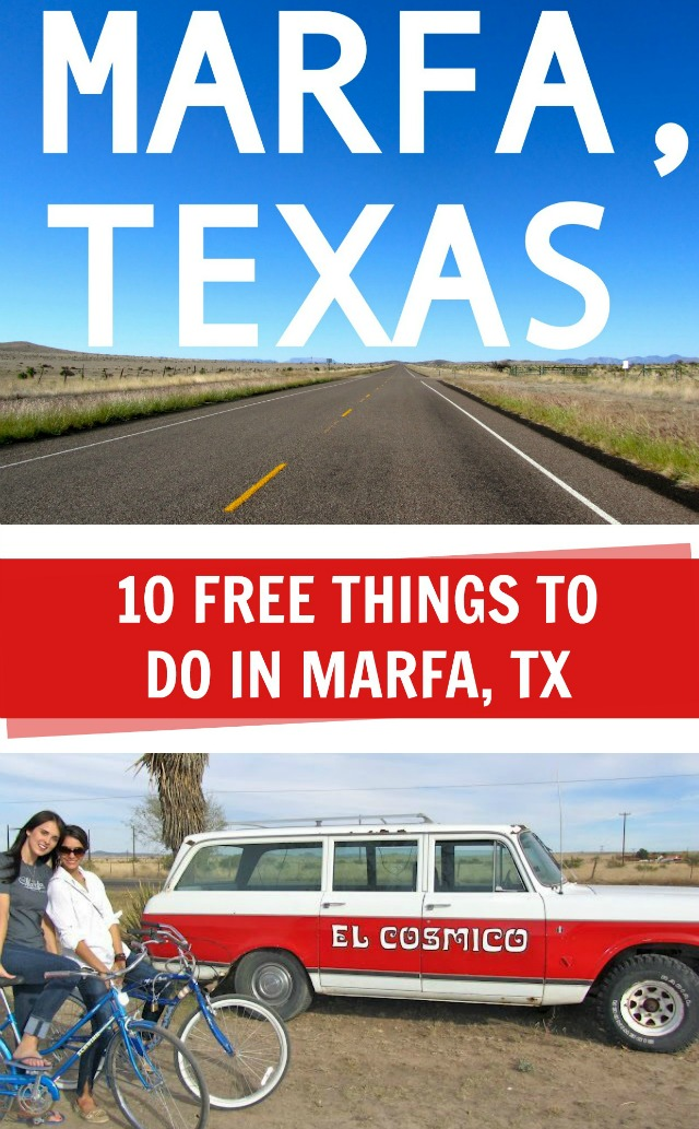 10 Free things to do in Marfa, TX