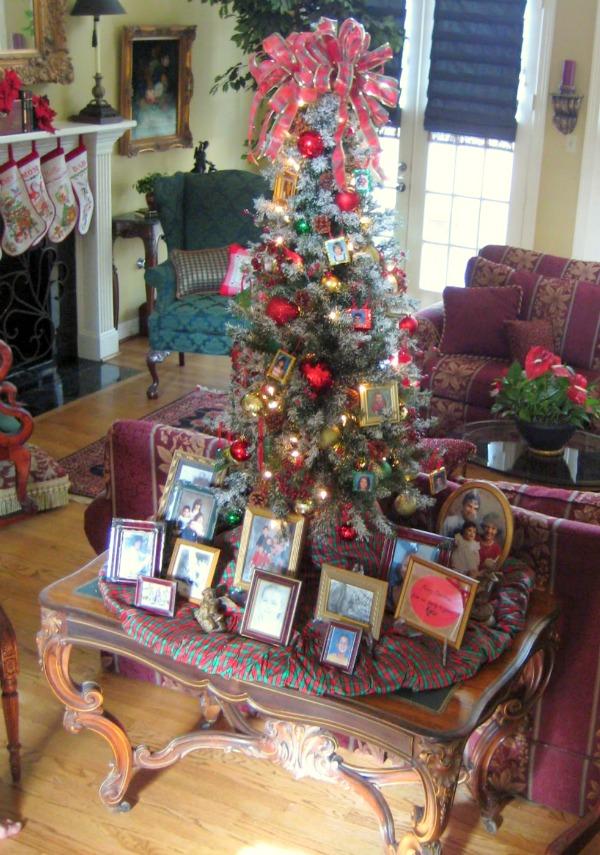DIY Family tree ornaments