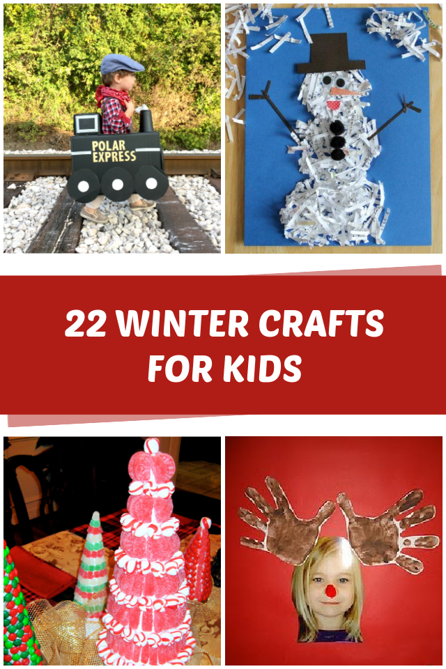 22 Winter crafts for kids