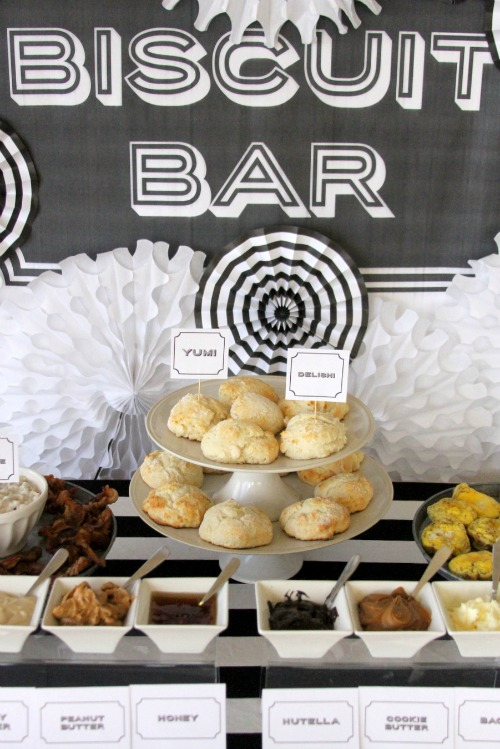 Make your own food bar ideas