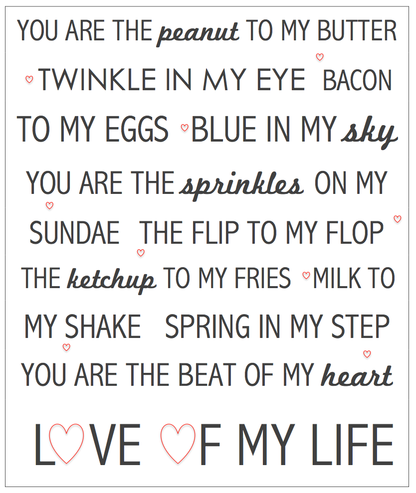 valentines day printable