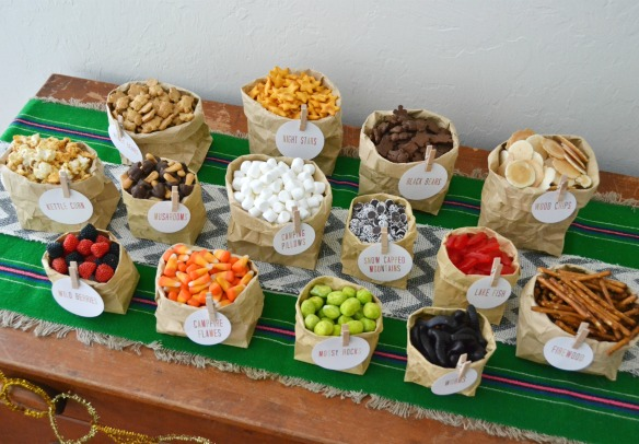 Trail mix party bar