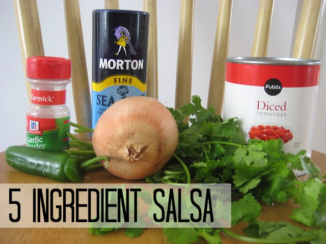 How to make salsa 5 ingredient salsa