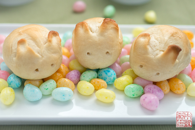 Bunny Rolls for Easter
