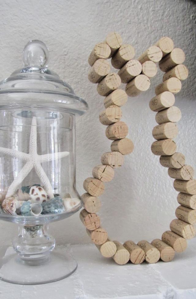 DIY cork bunny