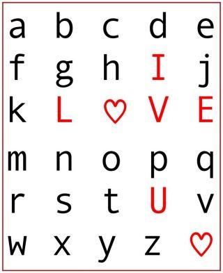 Free printable Valentine Art