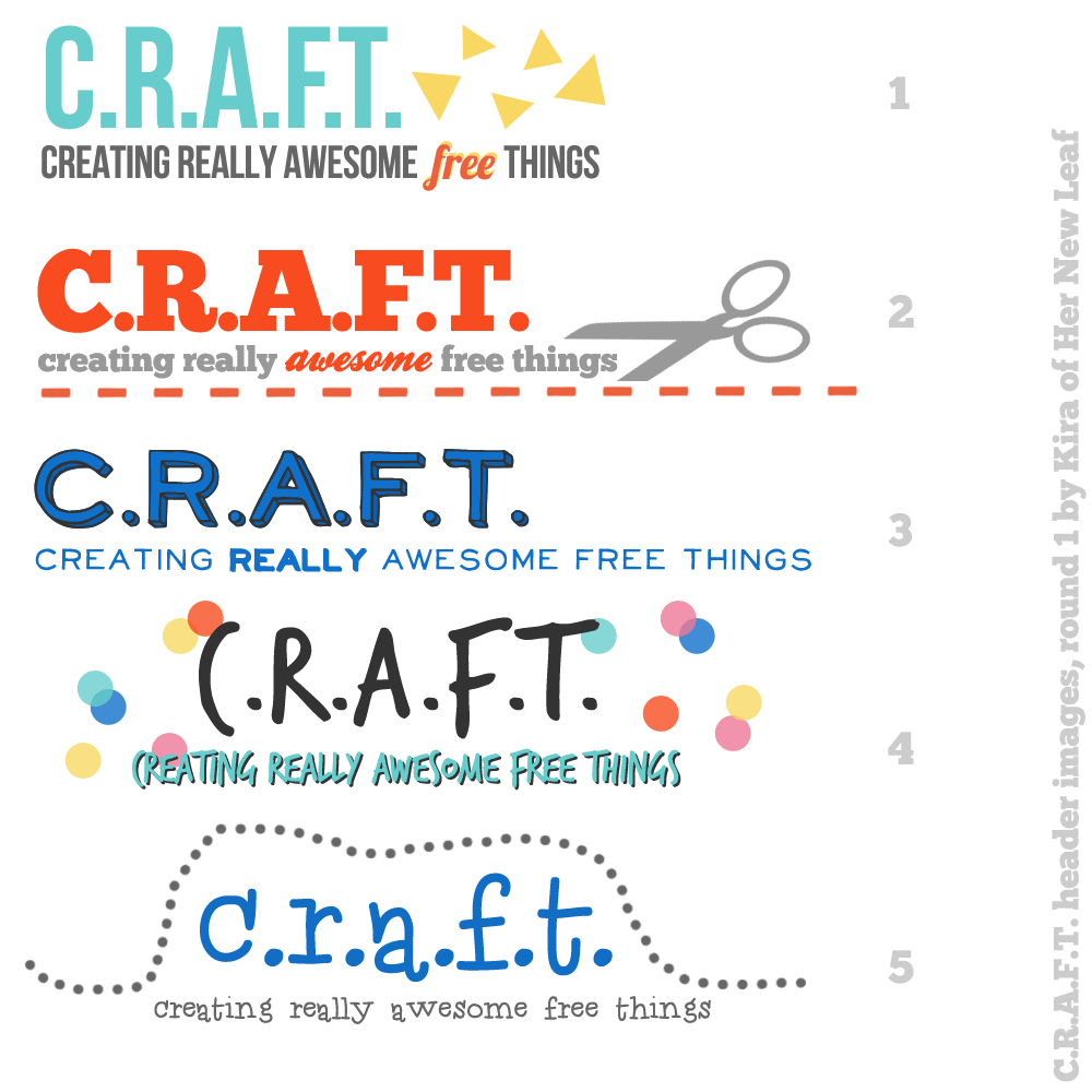 CRAFT headers for word press