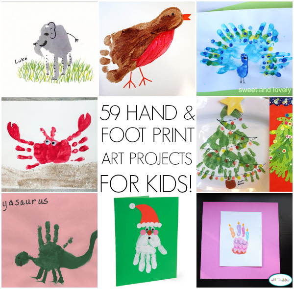 tons of handprint art ideas for kids - Prints For Kids