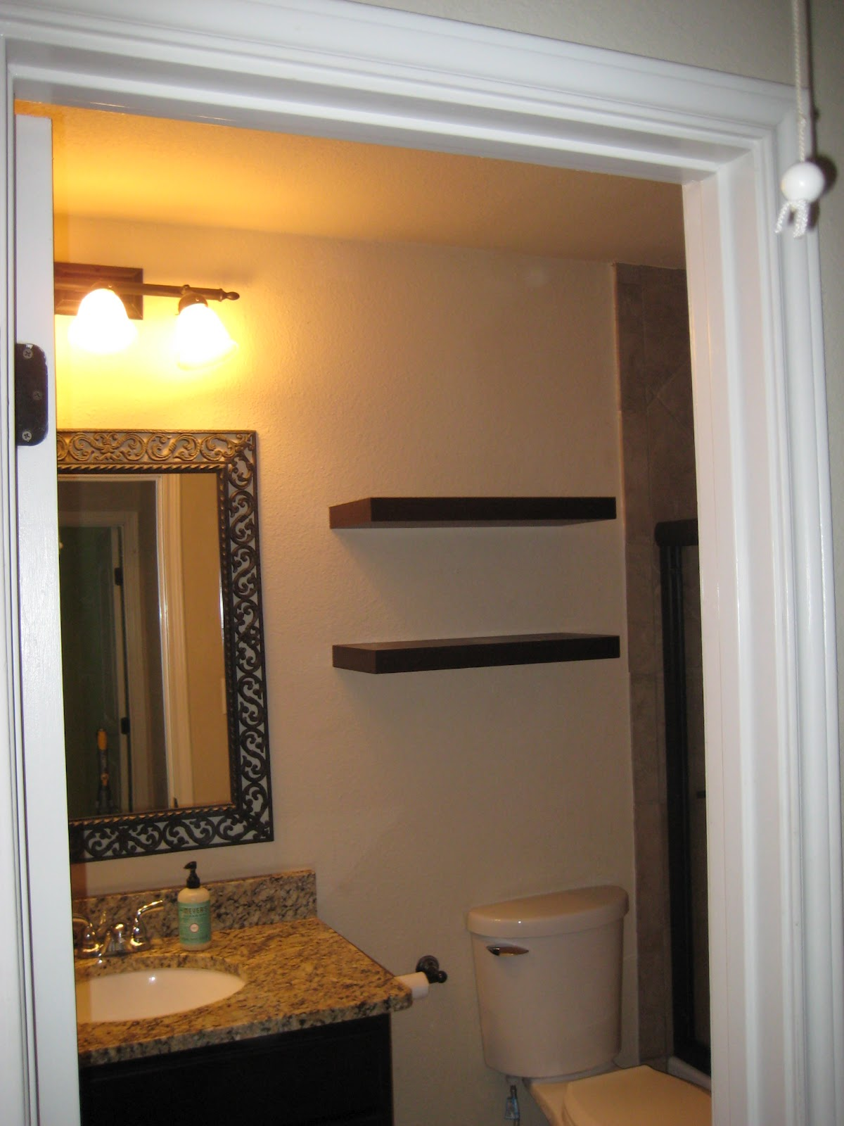 Towel Rack Placement In Bathroom Austin Condo Good Byes Craft
