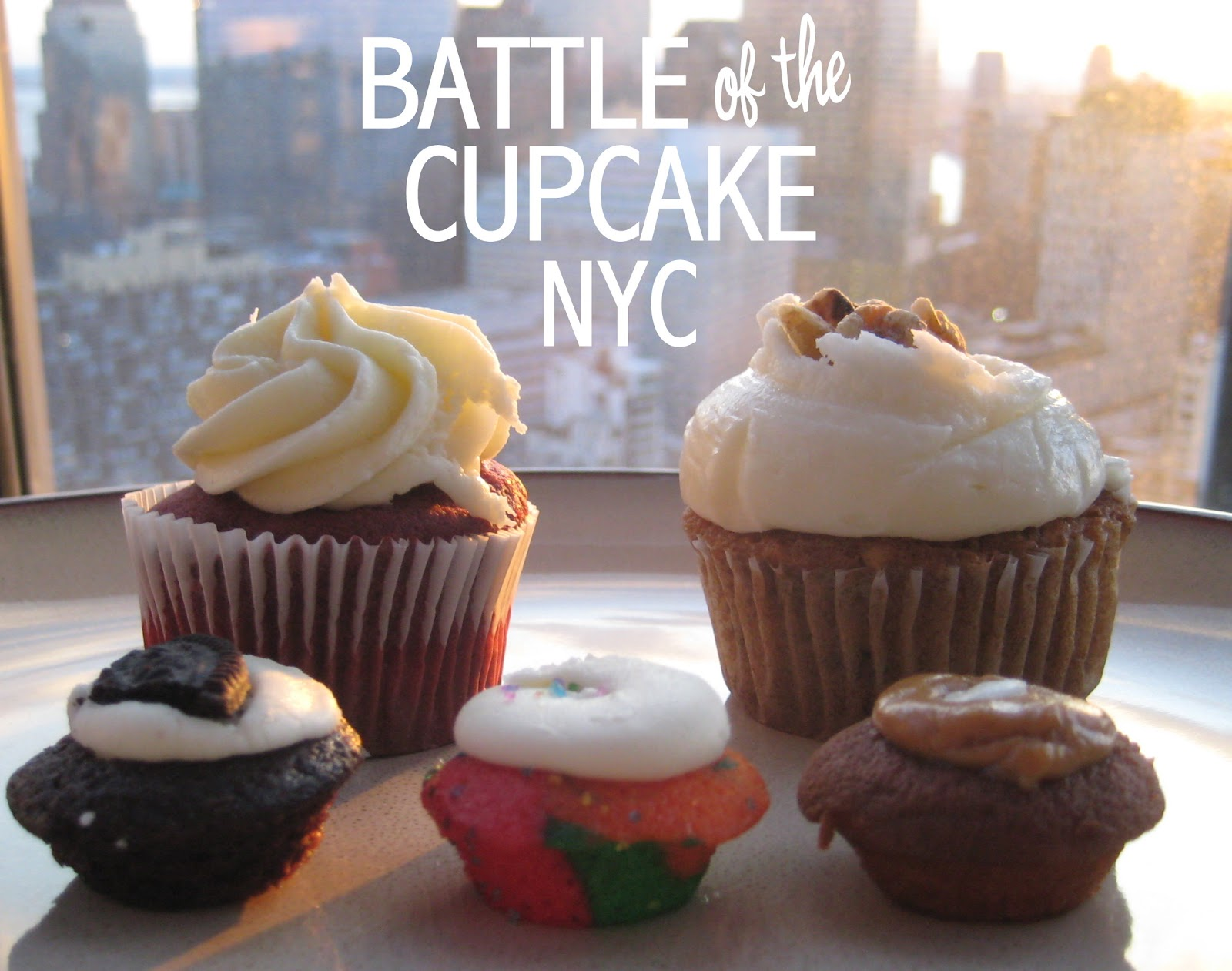 The best cupcake in downtown Manhattan is CRAFT