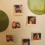 Mini polaroid magnets