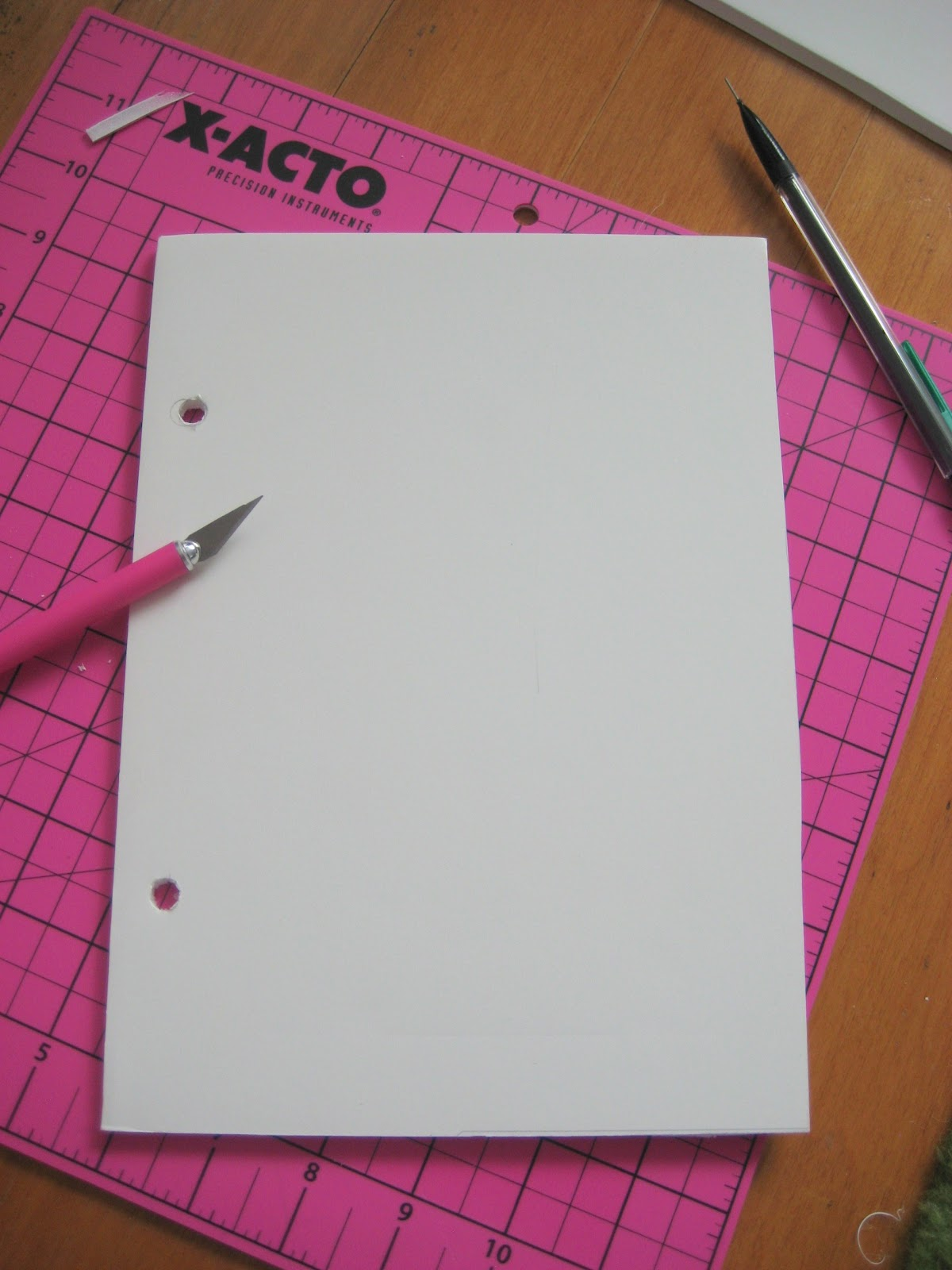 Organize Greeting Cards With Binder Rings Craft