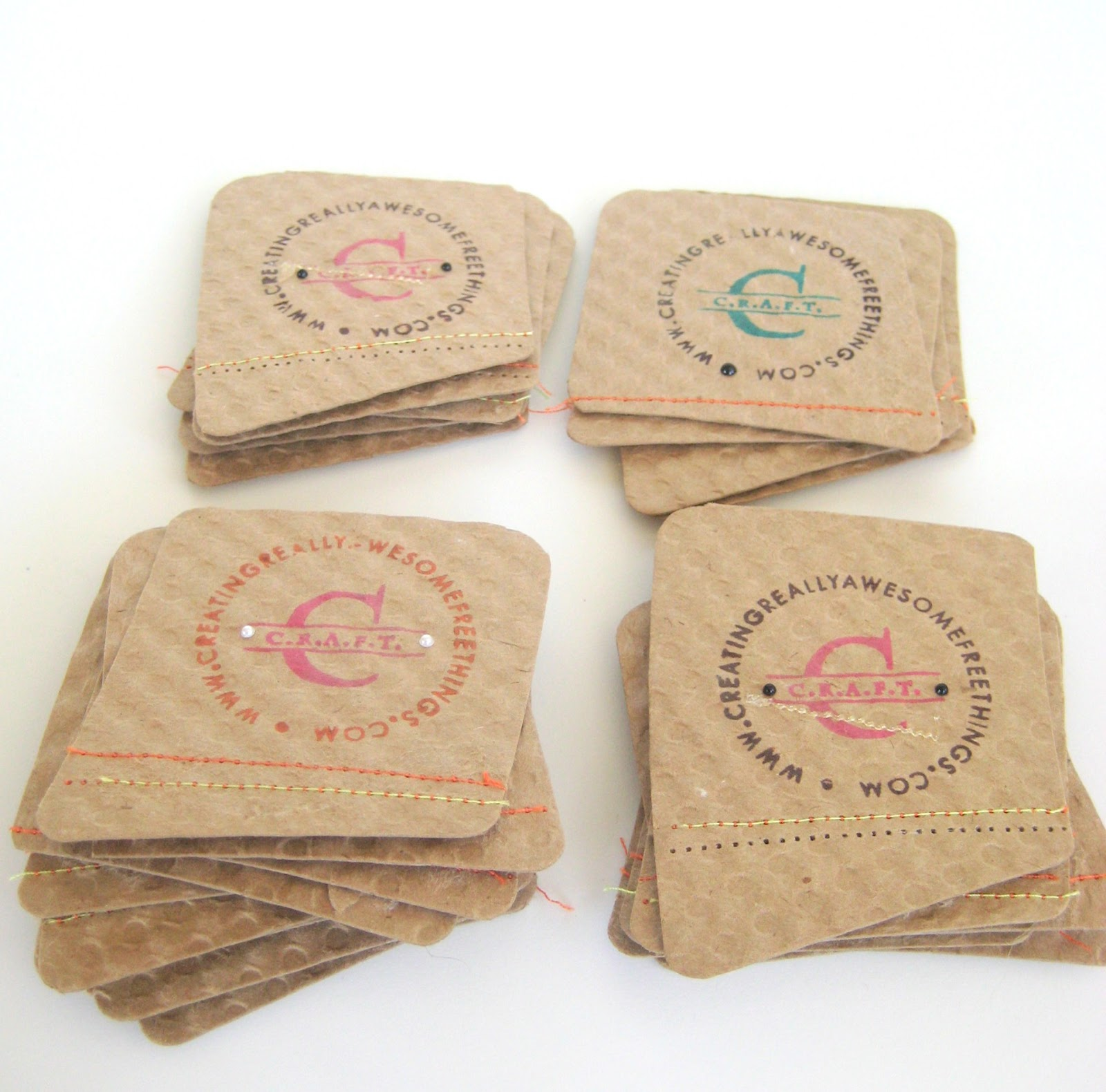 Coffee Sleeve Business Cards - C.R.A.F.T.