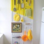 How to organize a kitchen (with a door!)