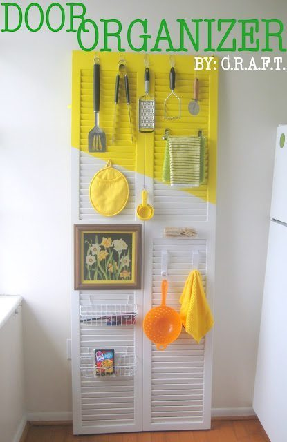 IMG 16997 Decorate a Door for Your Kitchen Storage and Organization