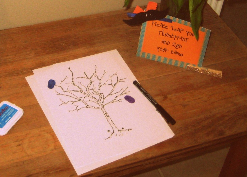 guest book ideas