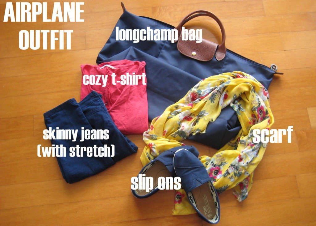 airplane outfit for women