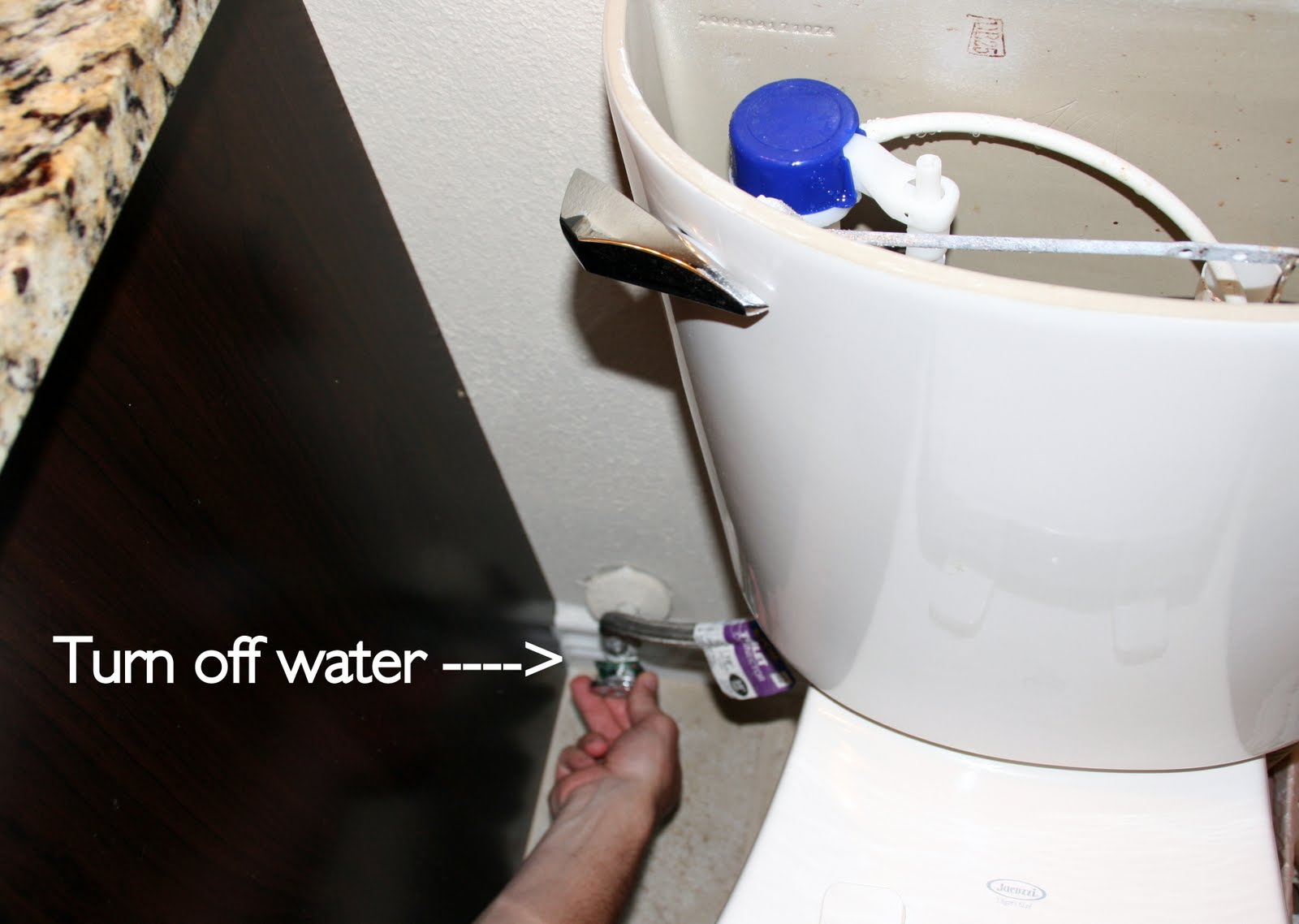 How to fix a running toilet - C.R.A.F.T.
