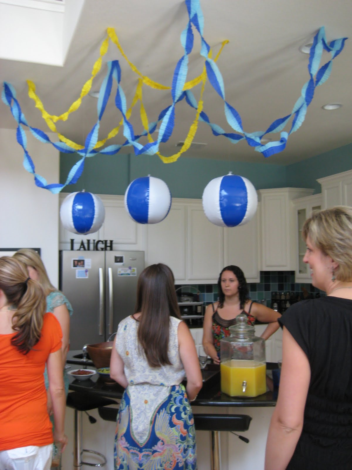 Baby Shower Ruffled Crepe Paper Party Streamers CRAFT