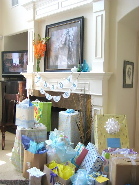 Beach inspired baby shower