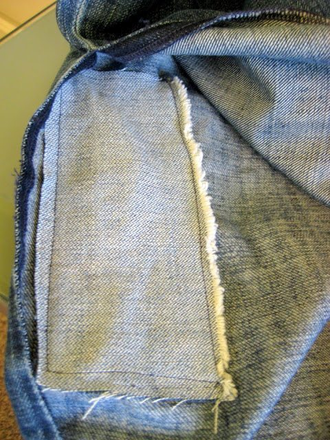 How to Sew a Knee Patch