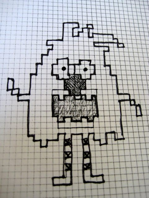 how to make a cross stitch pattern