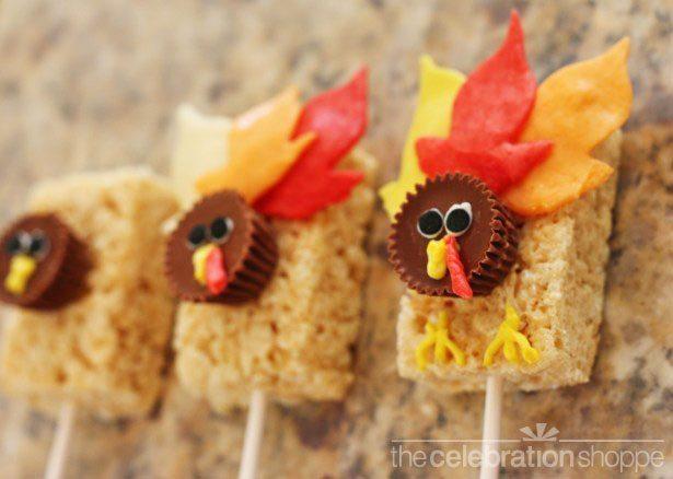 19 Edible Turkey Crafts