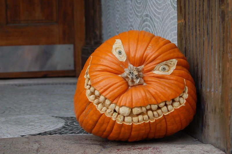 6 nuts and bolts - Unique Pumpkin Carving Ideas