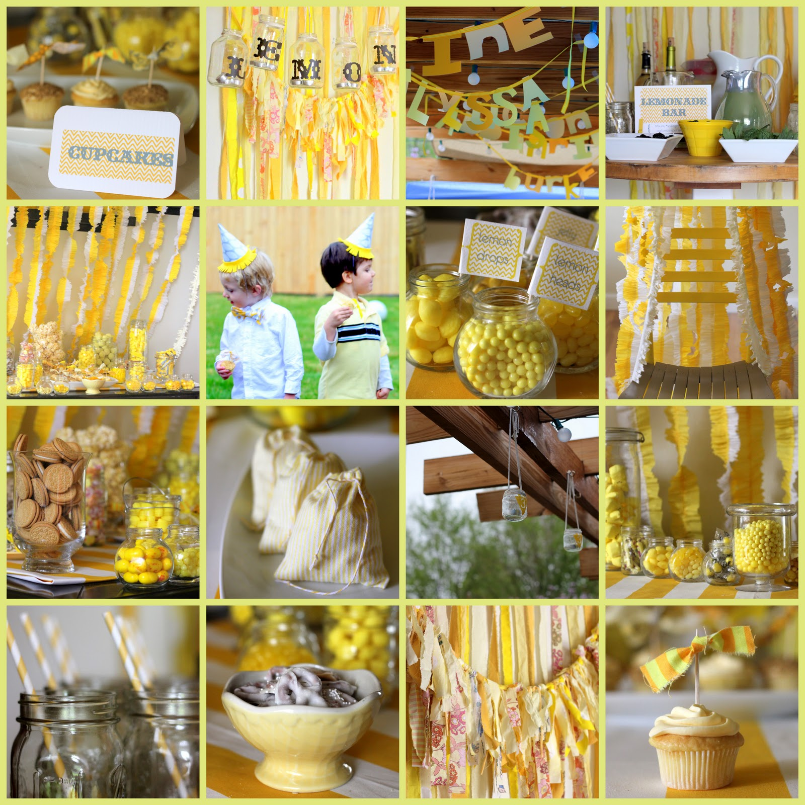 Blog Swap Kojo Deisgns  CRAFT ~ 214418_Birthday Party Ideas Yellow